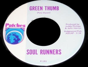 The Soul Runners - Green Thump - Patches