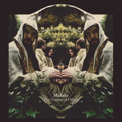 Psychedlic cover art for  Midlake's new record