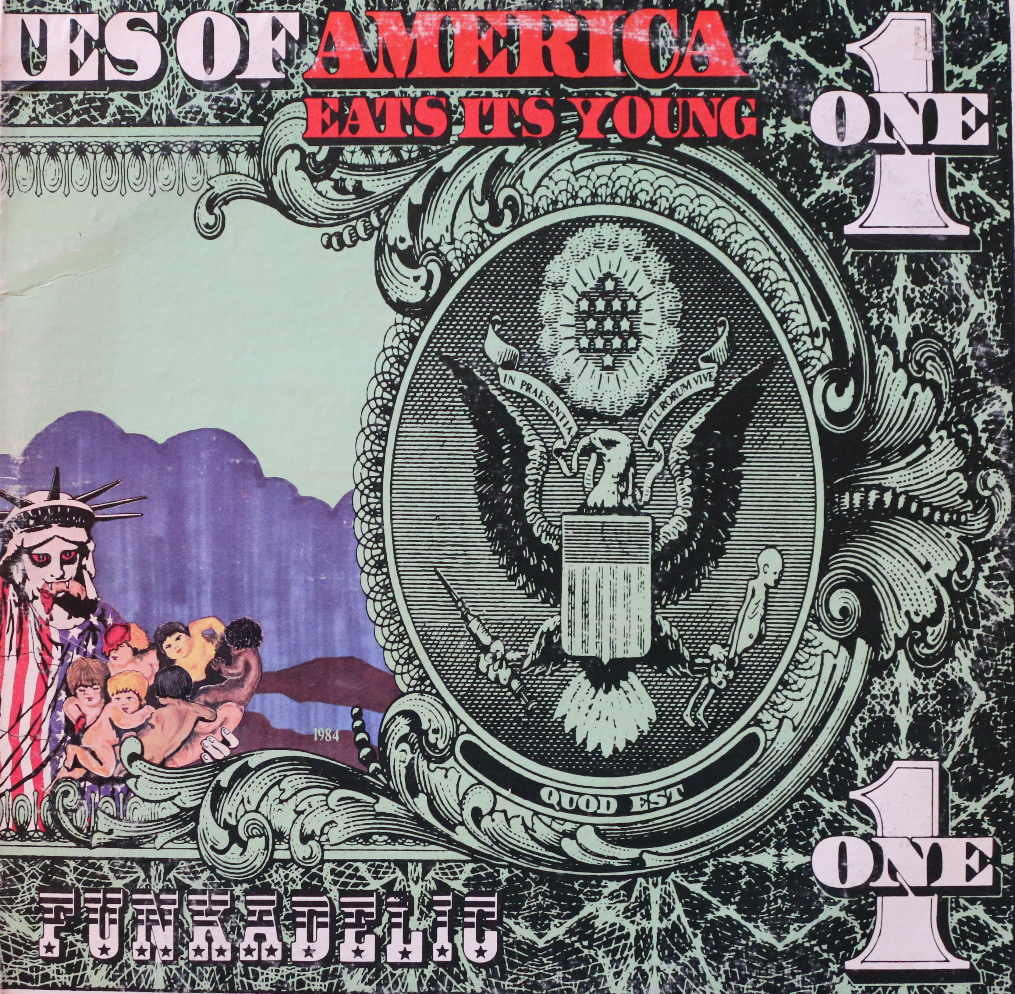 Dig Deep: Funkadelic - America Eats Its Young - Westbound (1971)