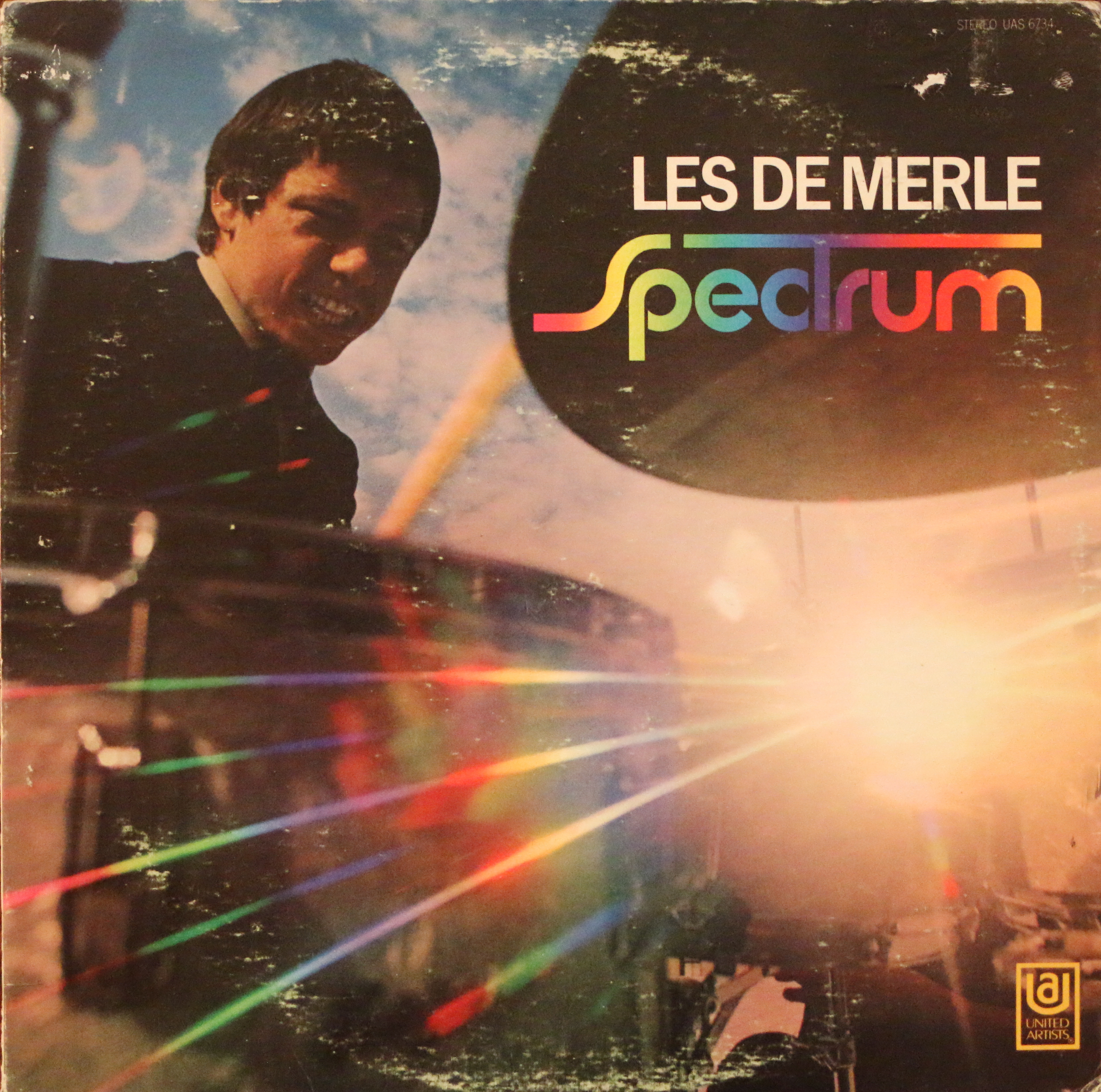 Dig Deep...For Matthew Africa: Les DeMerle - Spectrum - UA (1969)