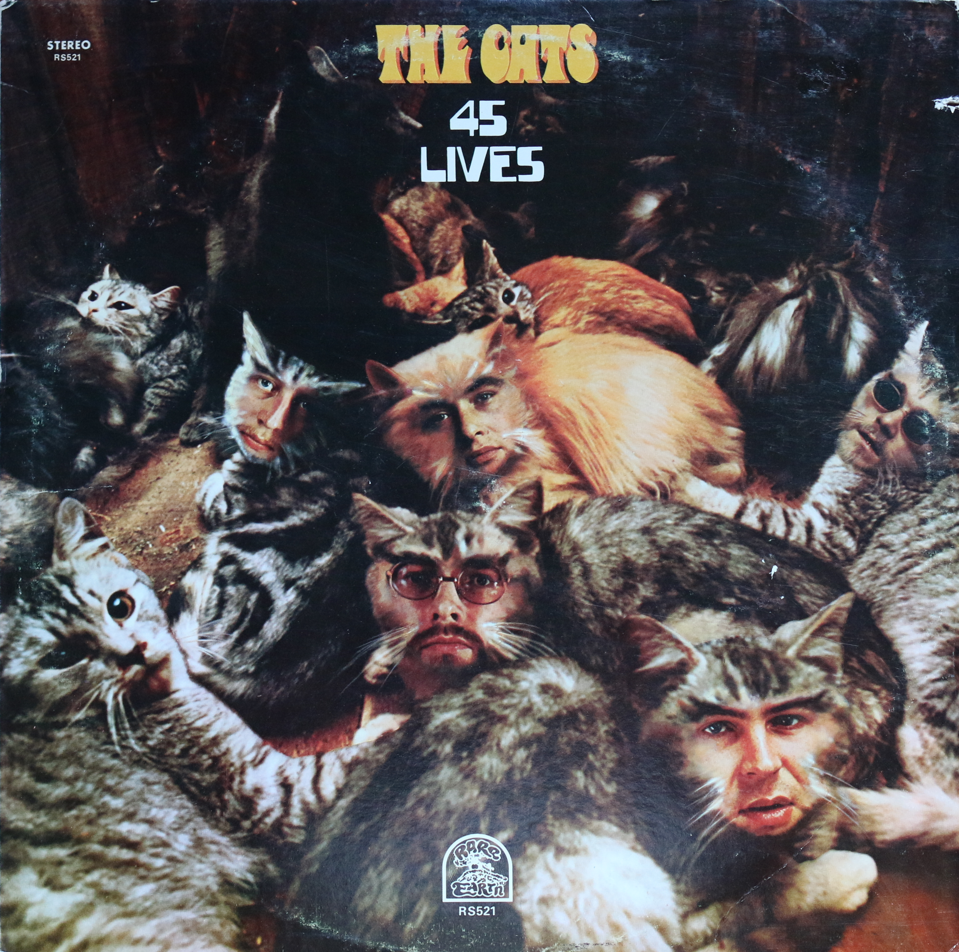 Dig Deep: The Cats - 45 Lives - Rare Earth (1970)